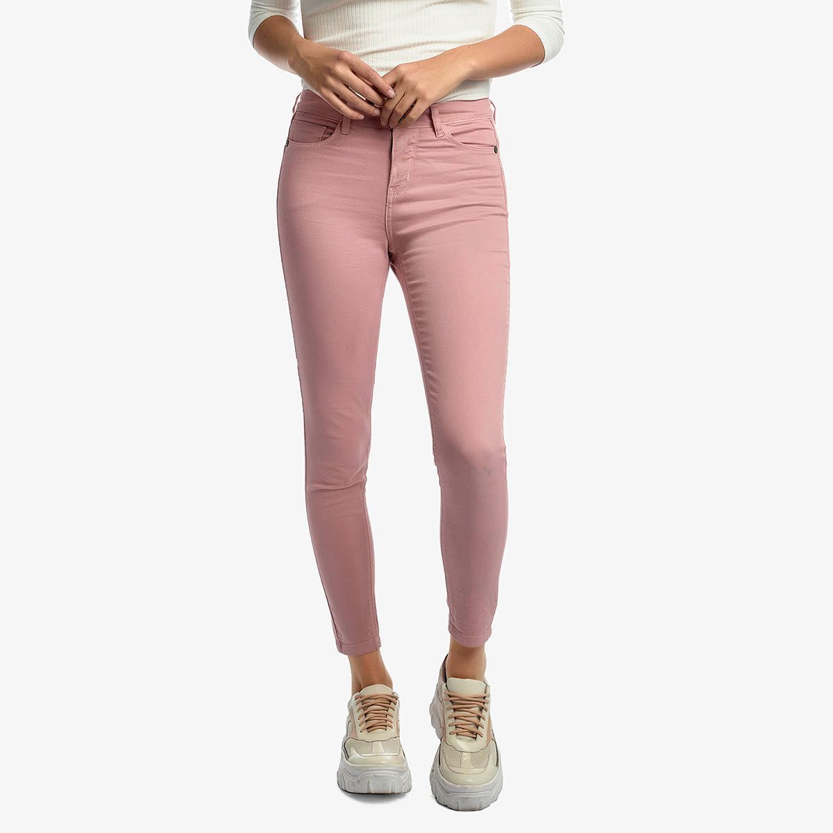 Pantalon Botany Bay Color Palo Rosa - EXIT - SmartBrands