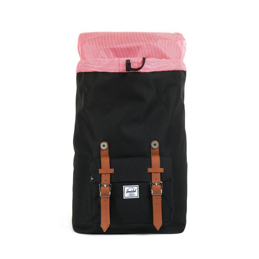 Mochila Backpack Little America Mid-volume Poly Blk Negro - EXIT - SmartBrands