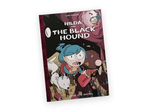 Hilda and the Black Hound - Hardcover Book - Luke Pearson