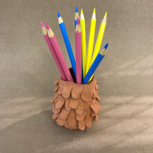 Pencil Pot - Pear Shaped 02