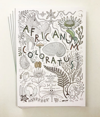 Africanum Coloratus Colouring Book by Joh Del