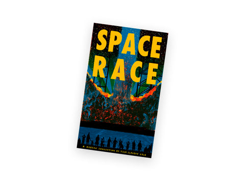 Space Race - Leporello Book - Tom Clohosy Cole
