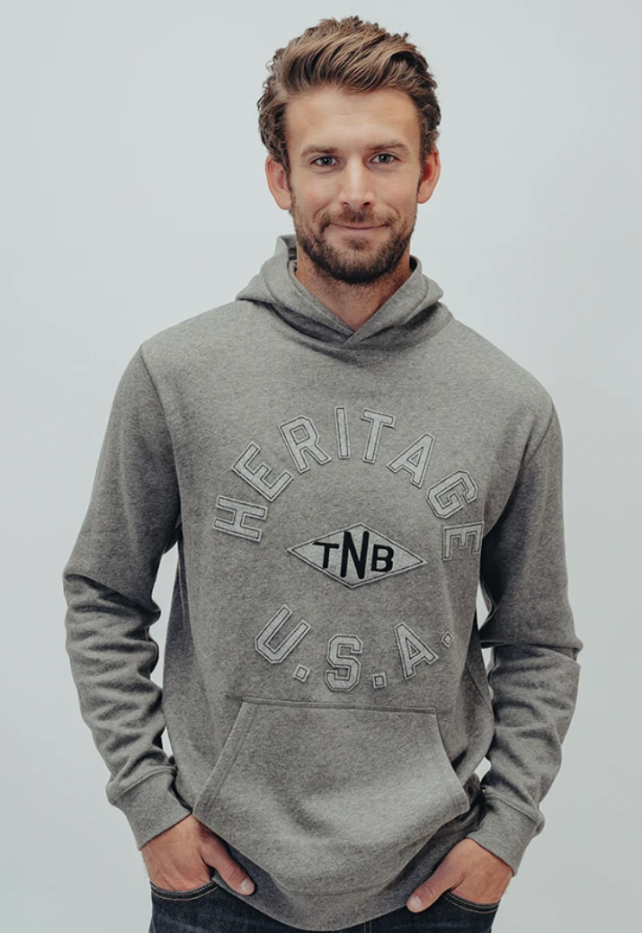 The Normal Brand Clay Fleece Terry Hoodie Heritage USA