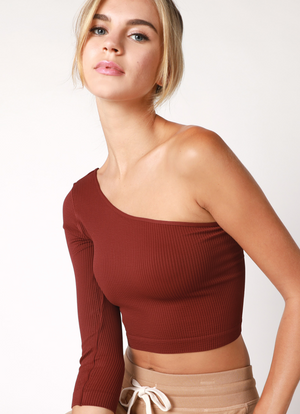 Rory One- Shoulder Top
