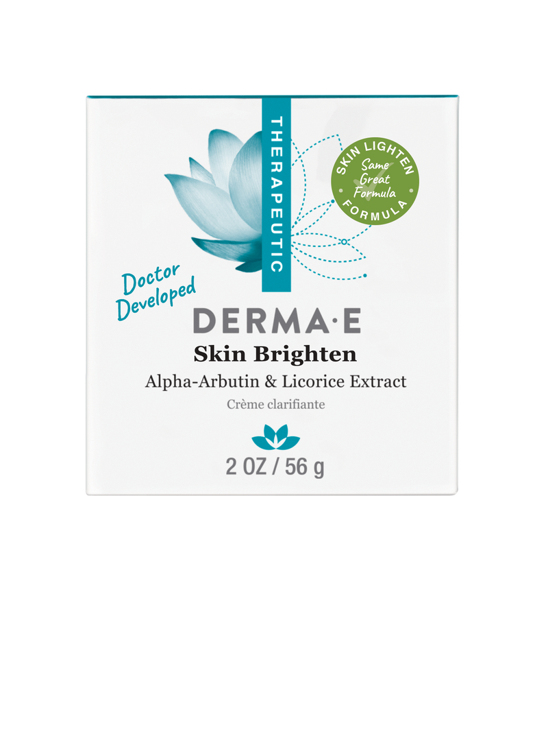 DERMA E, Skin Brighten Natural Fade & Age Spot Crème, 60 ml 56 g