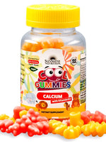 Sunshine Nutrition Cool Gummies Calcium With Vitamin D3 - 60 Gummies