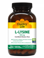 Country Life L-lysine 500mg, 100 VCapsules