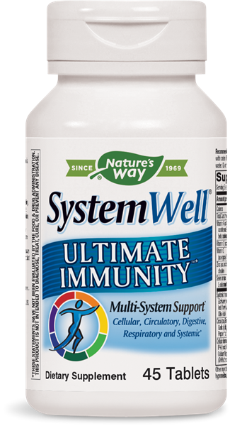Nature's Way System Well Ultimate Immunity 45 tablets, Expiring in Jan 21