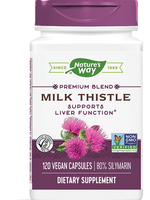 Nature's Way Milk Thistle 120 VGC