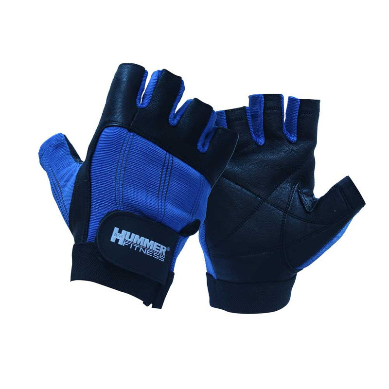 Hummer Usa 1985 Gloves W/O Wirsu Blue - Medium