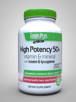 High Potency 50+ Multivitamin & Mineral Formula With Lutein & Lycopene 60 Tablets