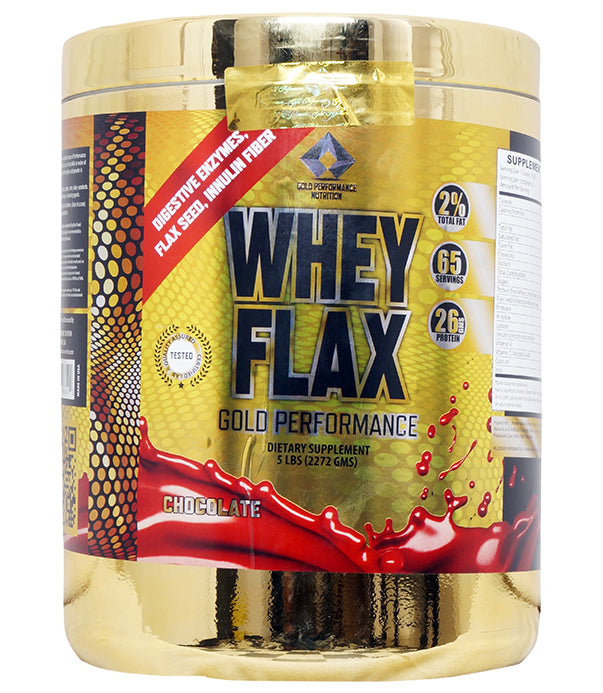 GOLD PERFORMANCE WHEY FLAX CHOCOLATE