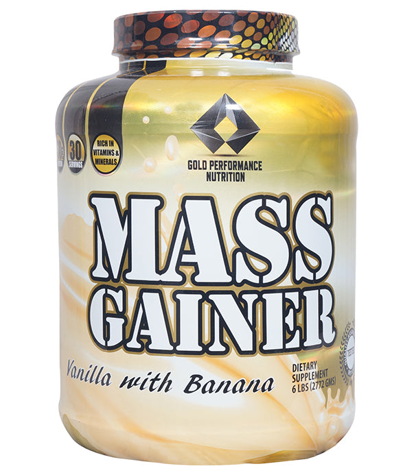 GOLD PERFORMANCE MASS GAINER 6LB