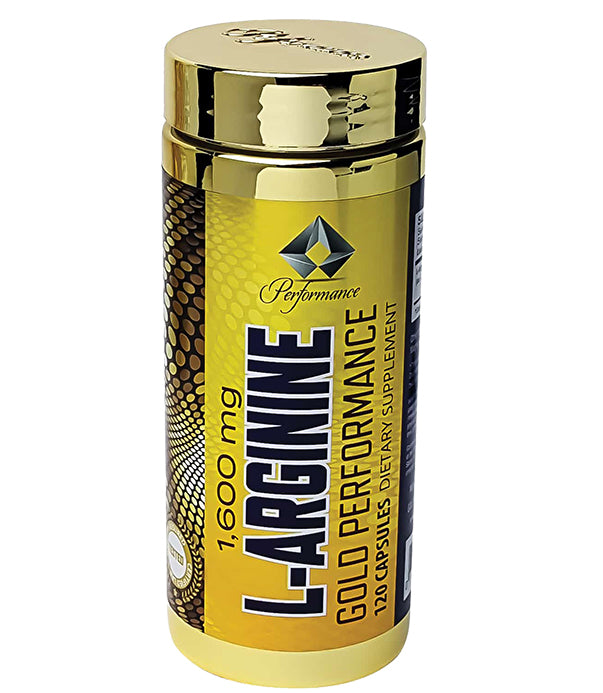 Gold Performance L-Arginine 120 Capsules