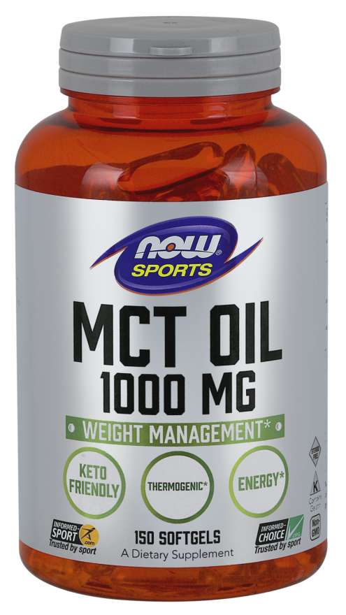 Now Mct Oil 1000 Mg, 150 Softgels, Weight Management