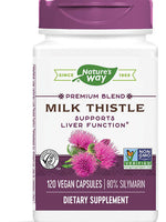 NATURES WAY MILK THISTLE STANDARDIZED EXTRACT 120 VEG CAPS