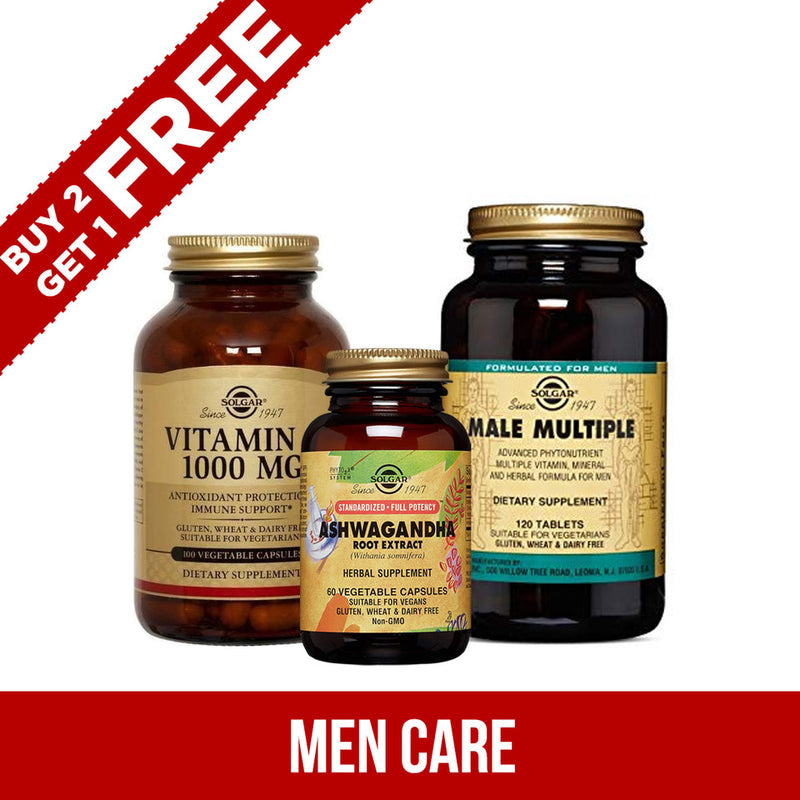 Combo Offer - Men's Care 2+1 Offer, Dietary Supplement