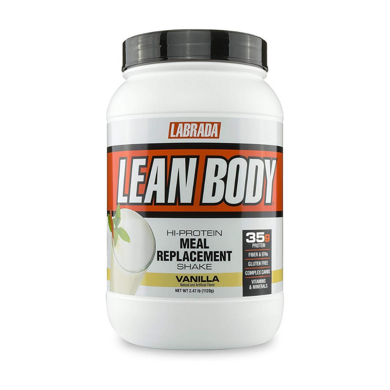 Labrada Lean Body Meal Replacement, Vanilla, 2.47 Lb