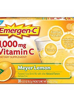 Emergen-C Original Vitamin C Drink, Meyer Lemon - 30 Count