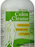 Health Plus Super Colon Cleanse with Herbs & Acidophilus - 240 Capsules