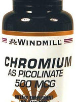 Windmill Chromium Picolinate 500 Mcg Tablets - 60 Tab