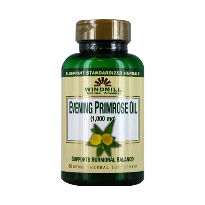 Windmill  Evening Primrose Oil, 1000 Mg, 60 Soft Gels - Expiring in December