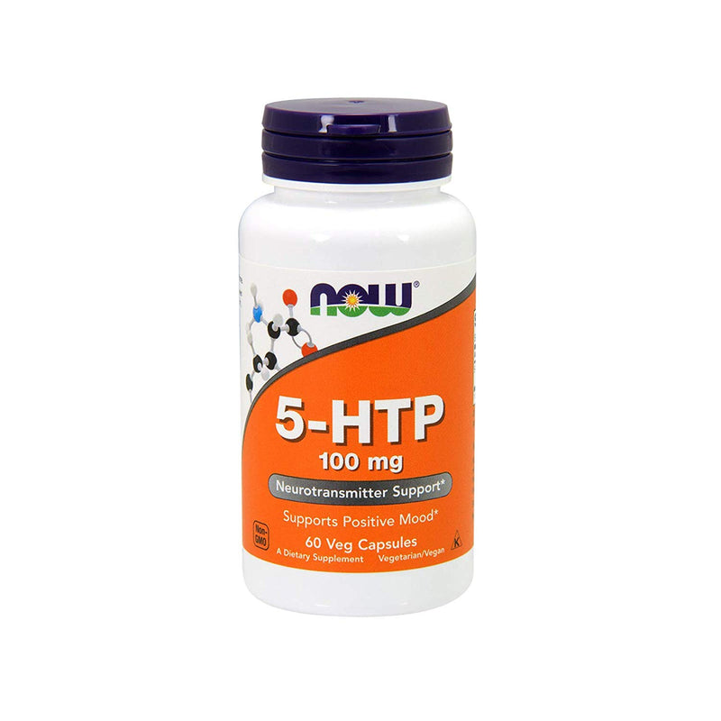Now, 5-Htp 100 Mg, 60 Caps, Dietary Supplement