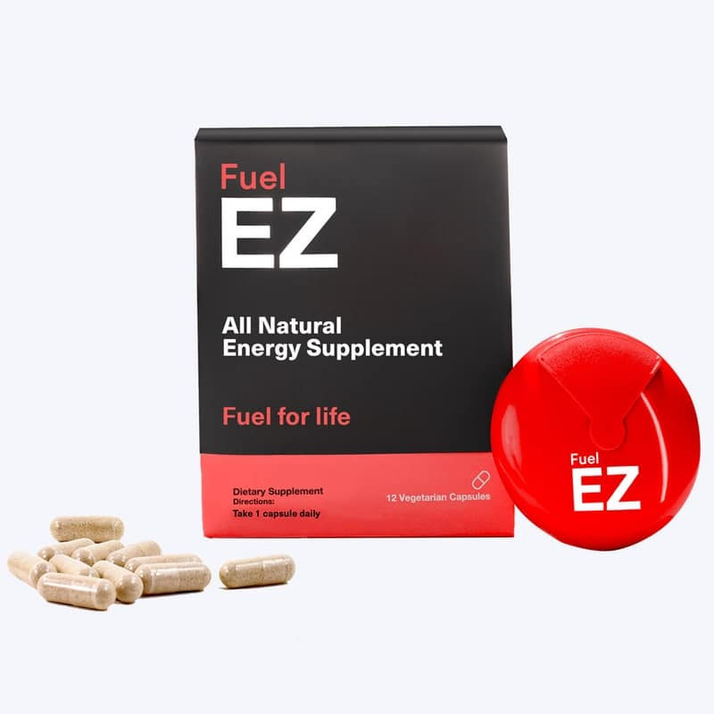 Fuel EZ Capsules ( Red) (6 capsules pack)