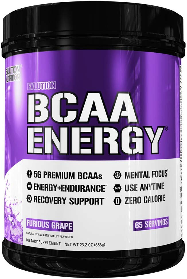 EVL BCAA Energy  Furious Grape  65  Servings