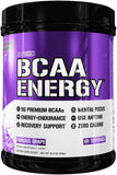 Evlution Nutrition Bcaa Energy Pre Workout, Post Workout, Furious Grape  65 Servings