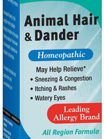 bioAllers Allergy Relief Liquid, Animal Hair and Dander Allergy Treatment, All Regions Formula, 1-Ounce Bottles