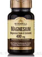 Windmill Magnesium 400 Mg 100 Tablets