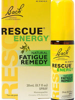 RESCUE Energy Spray, 20mL – Natural Homeopathic Fatigue Relief