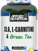 Applied Nutrition Cla L-Carnitine & Green Tea - 100 Softgels