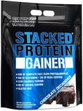 Evlution Nutrition Stacked Protein Gainer Chocolate Decadence, 12 Lb