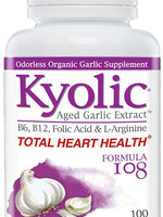 Kyolic Aged Garlic Extract Formula 108 Total Heart Health - 100 Capsules
