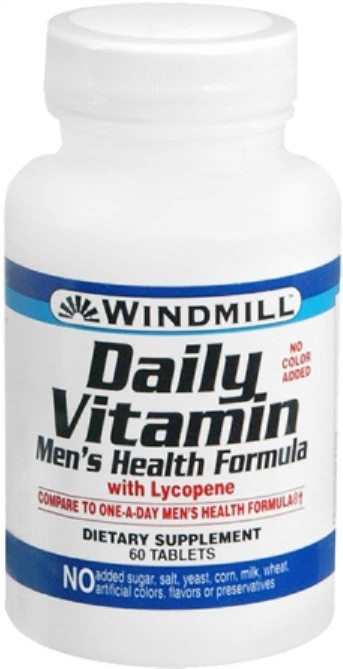 Windmill Daily Vitamin Tablets Health Formula 60 Tabs