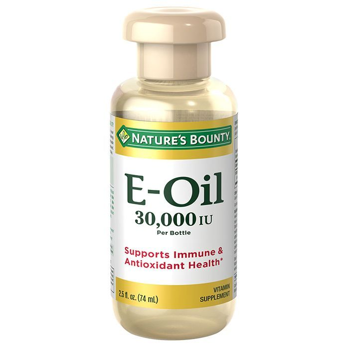 NATURE'S BOUNTY, E OIL 30,000 IU, 30 's 2.5 oz