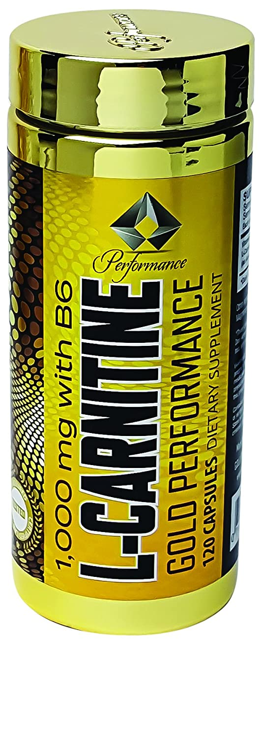 Gold Performance L Carnitine 120 Capsules