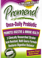 Promend Once-Daily Probiotic Dietary Supplement  30 Capsules