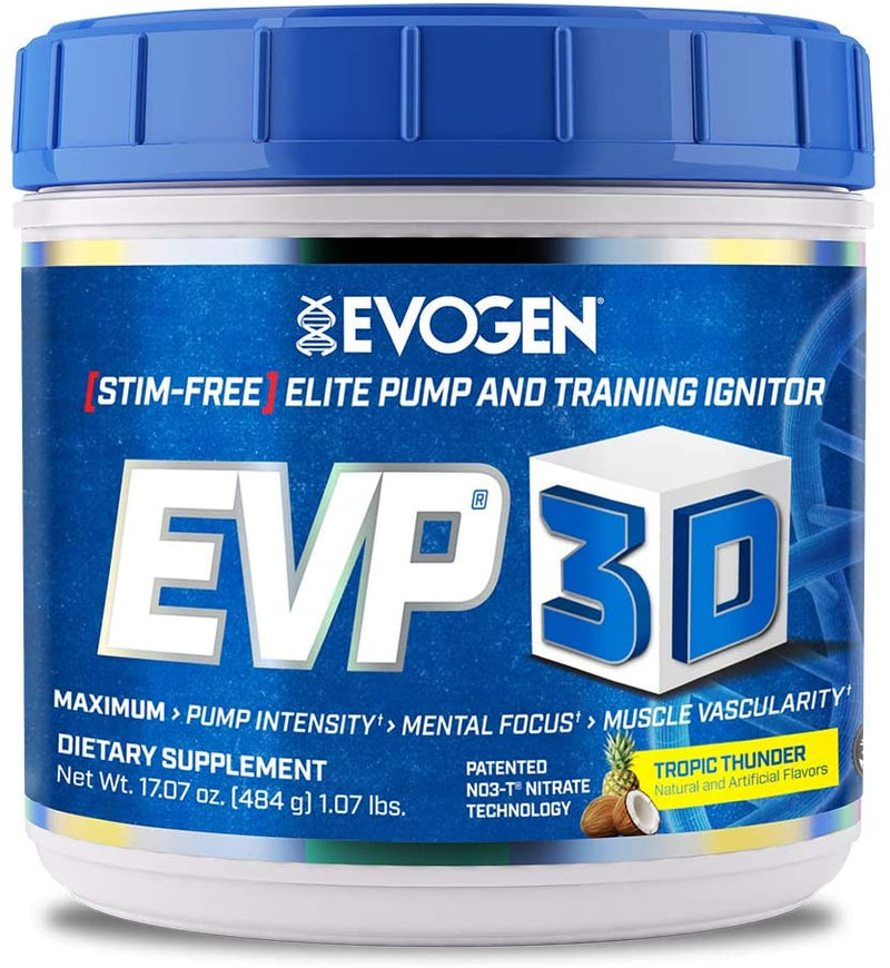 Evogen EVP-3D Tropic Thunder, 40 Servings