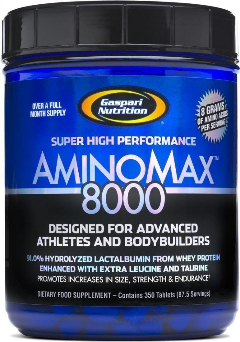Gaspari Nutritions,  Aminomax 8000, 325 Tablets