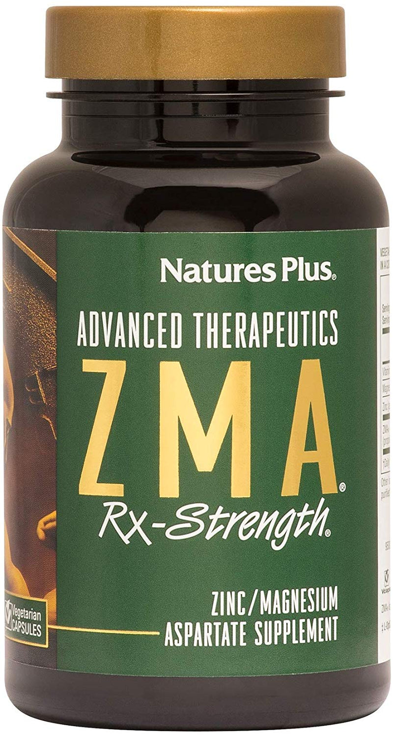 Naturesplus ZMA Rx Strength - 90 Vegetarian Capsules