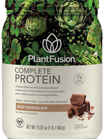 Plantfusion Complete Plant Based Pea Protein Powder, Non-Gmo, Vegan, Dairy Free, Gluten Free, Soy Free, Allergy Free W/Digestive Enzymes, Dietary Supplement, Chocolate, (15 Servings) 1 Pound