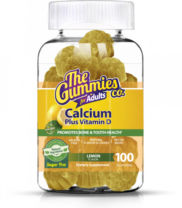 THE GUMMIES CO, CALCIUM + VIT. D          ADULTS, 100's 100's