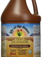 LILY OF THE DESERT ORGANIC ALOE VERA GEL INNER FILLET, 1 GALLON