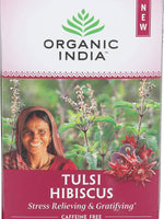 Organic India, Tea Tulsi Infusion Hibiscus, 18 Count
