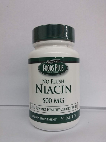 Food Plus Niacin 500Mg 30 Tablet