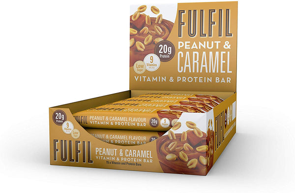 Fulfil Peanut And Caramel Vitamin And Protein Bar 55G