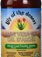 LILY OF THE DESERT ORGANIC ALOE VERA GEL Whole Leaf, 32 Ounce